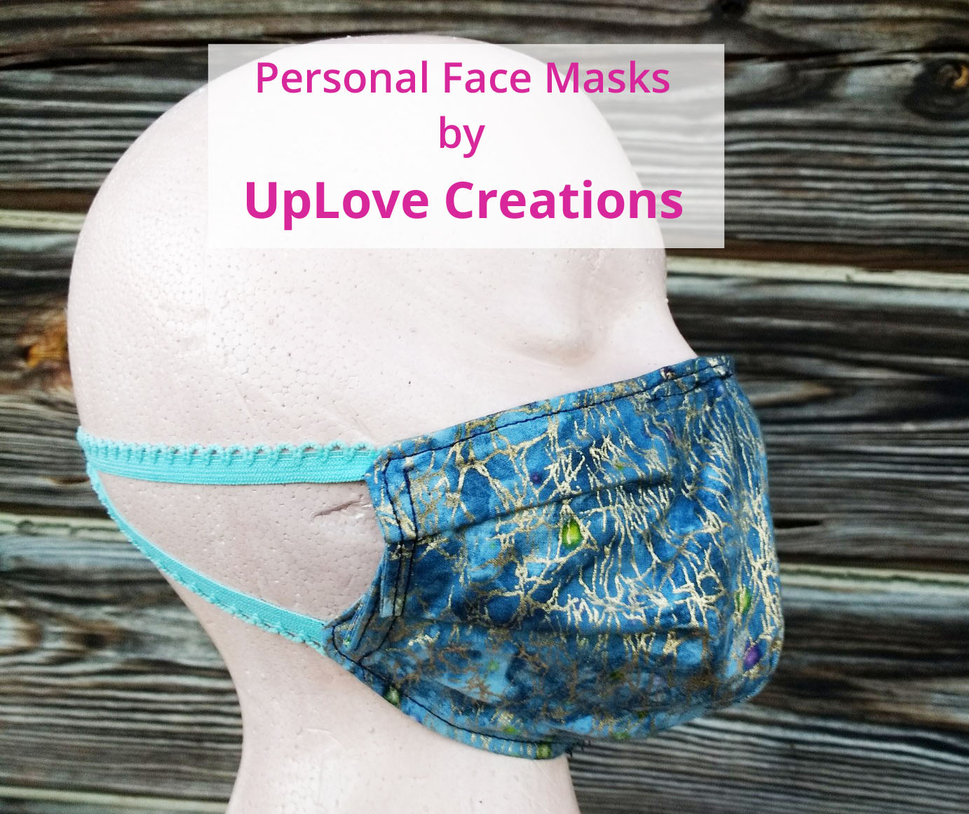 face mask side view